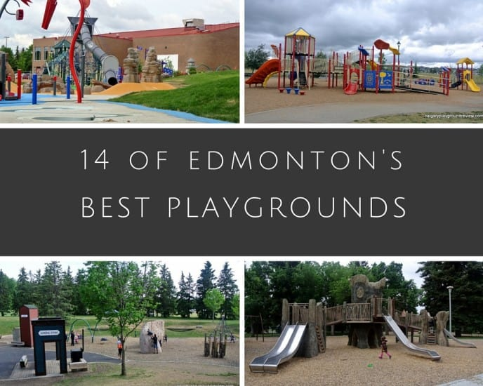 14 of the best playgrounds in Edmonton and area