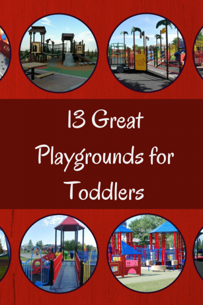 Calgary Playgrounds that are Great for Toddlers