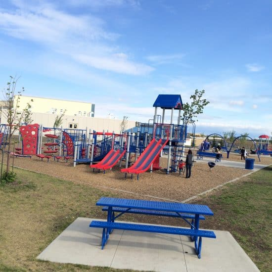 Michael Strembitsky School Playground - Awesome Edmonton Playgrounds - South of the River