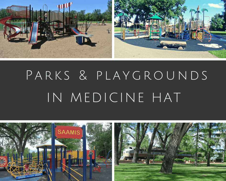 Parks, Playgrounds and Spray Parks in Medicine Hat