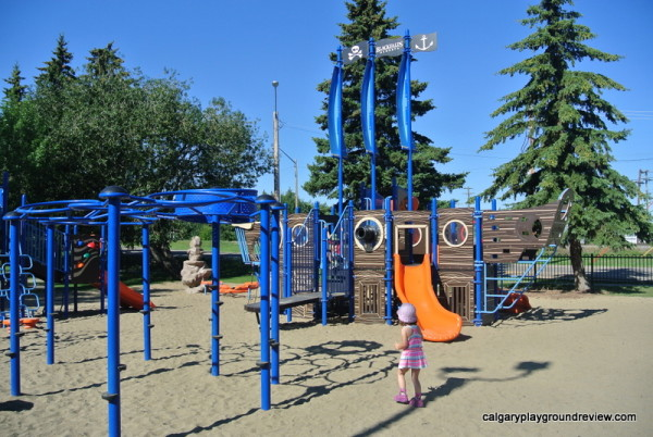 Pirate Ship Playground - Blackfalds, AB