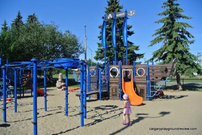 Pirate Ship Playground - Blackfalds, AB