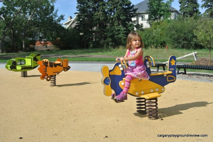 airplane bouncers - playground equipment
