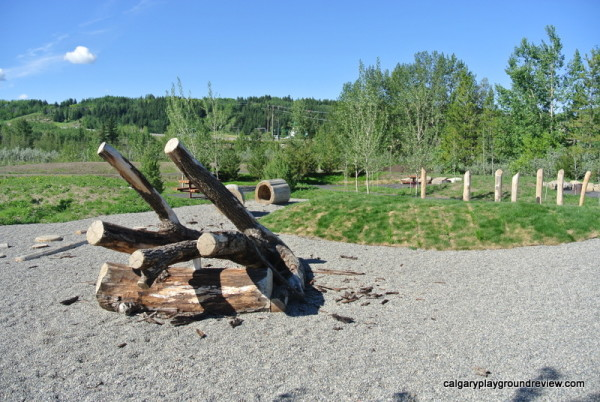 Best Cochrane Playgrounds - Riverfont Park Natural Playground - Calgary, AB