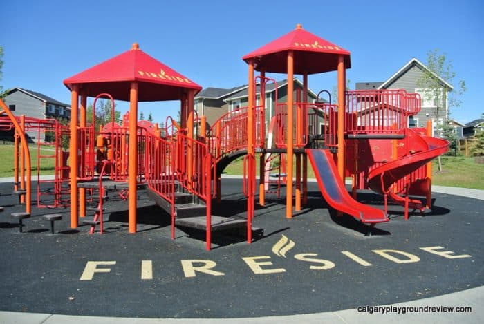Best Cochrane Playgrounds - Fireside Playground - Cochrane, AB