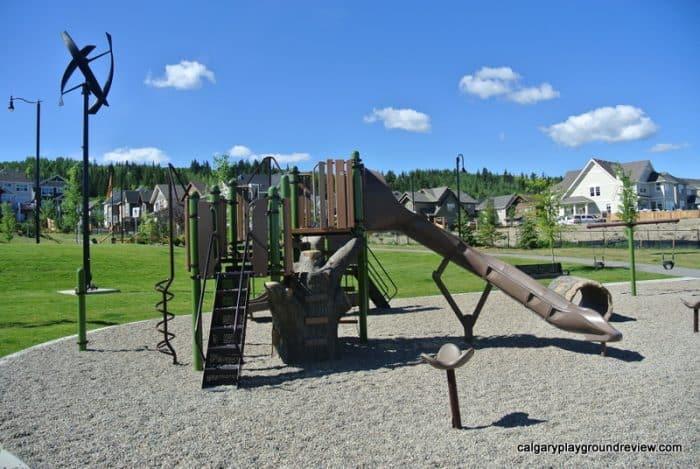 Best Cochrane Playgrounds - Riviera Park Playground - Cochrane, AB