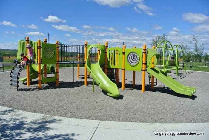 Best Cochrane Playgrounds - Heartland Playground - Cochrane, AB