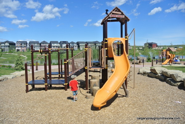 Sunset Ridge Playground - Cochrane, Alberta