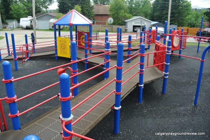 Best Cochrane Playgrounds - Centennial Park Playground - Cochrane, AB
