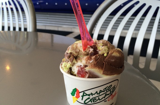 Amato Gelato - in search of Calgary's best ice cream