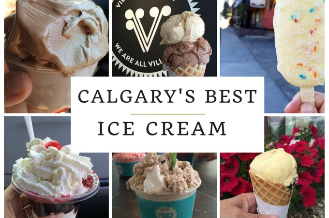 Calgary's Best Ice Cream