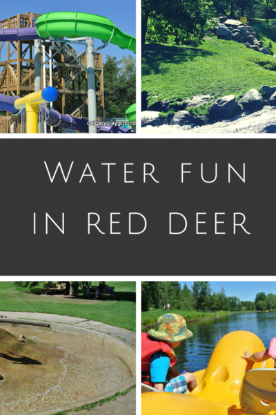 Red Deer Water Fun – Spray parks, wading pools, water parks and beaches