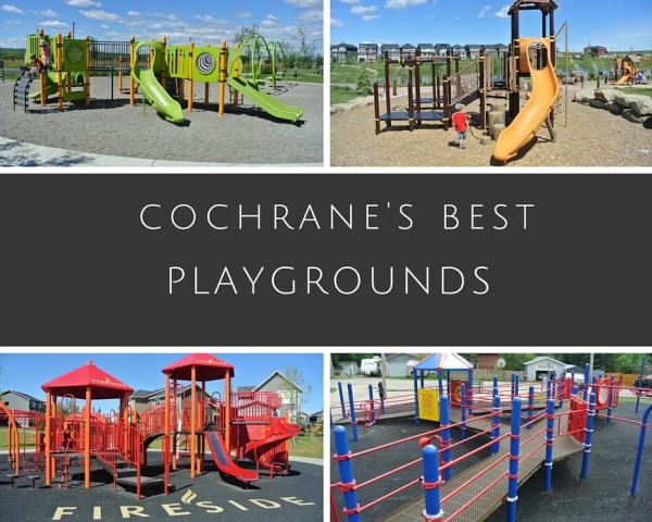 Best Cochrane Playgrounds - Cochrane's Best Playgrounds