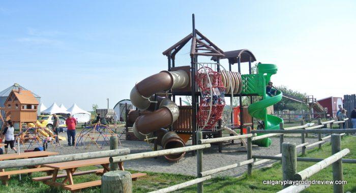 Calgary Farmyard playground