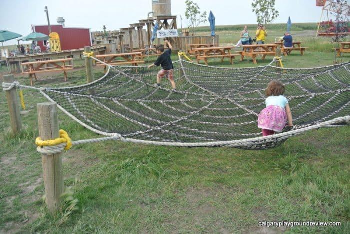 Rope web