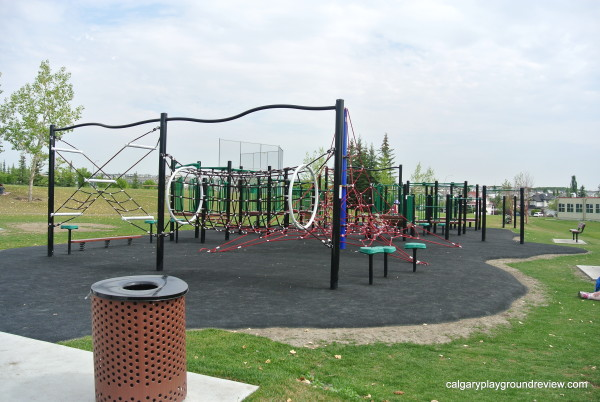 12 Mile Coulee School Fitness Park Playground