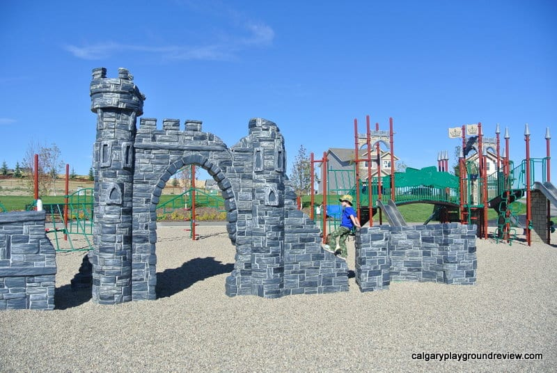 Nolancrest Castle Playground - Calgary, AB