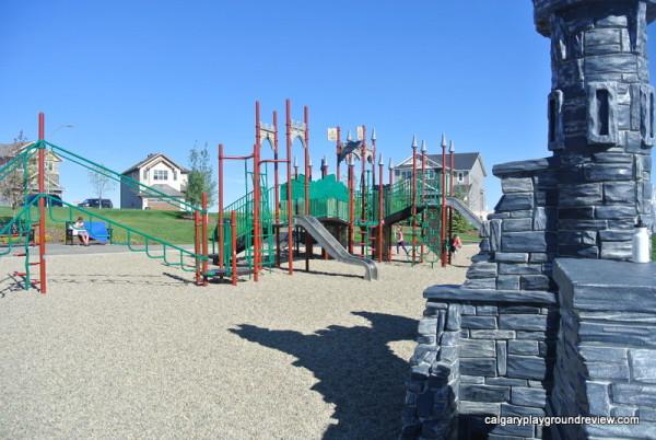 Nolancrest Castle Playground - Calgary, AB