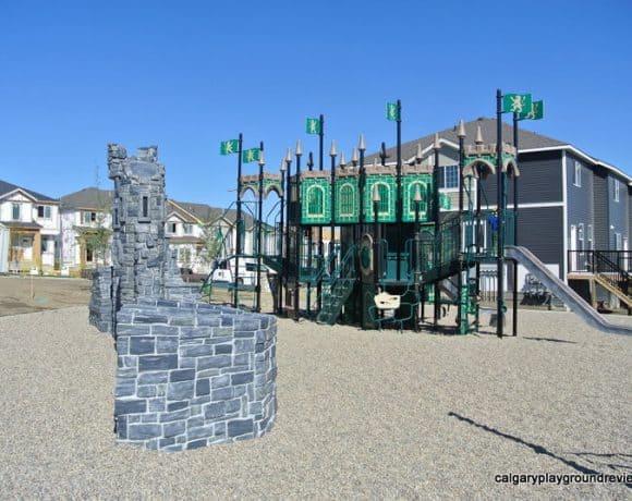 Nolan Hill Blvd Castle Playground