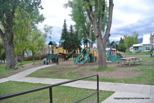 Baker Park Playground - Whitefish