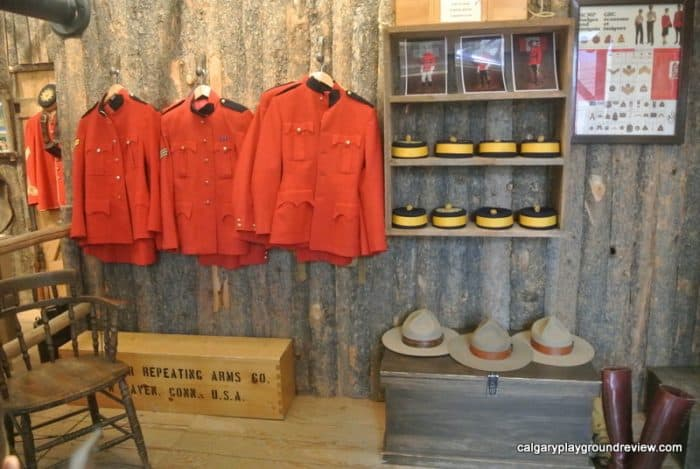 Fort Calgary - Uniforms