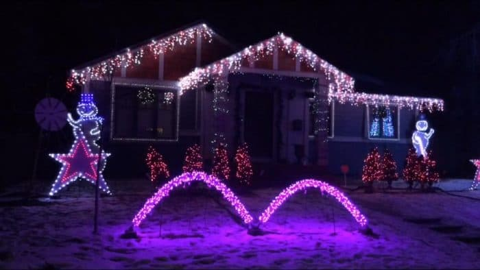 Christmas Lights in Calgary