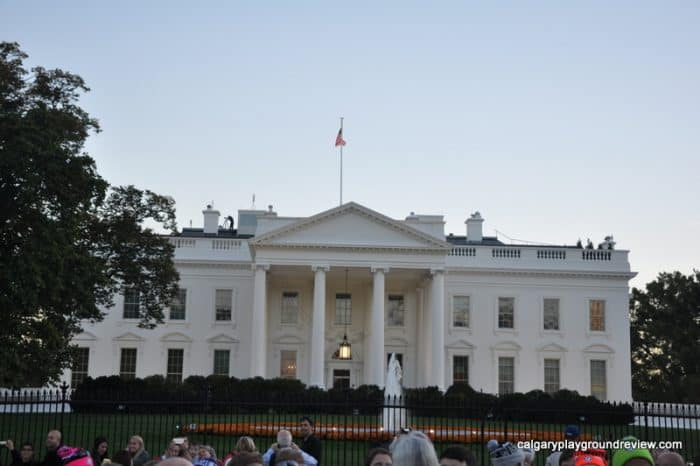 The White House - The National Mall with Kids