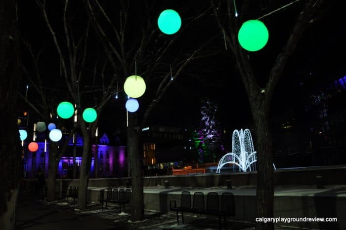 Calgary City Hall Christmas Lights