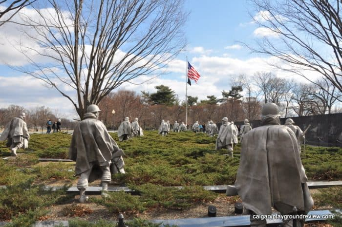 Korean War Memorial - Washington, DC