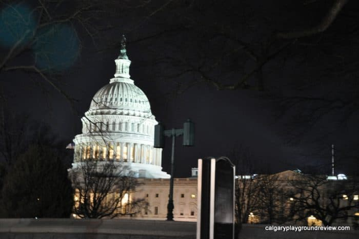 US Capitol Building at Night - Washington, DC