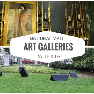 Visiting Art Galleries of the National Mall with Kids