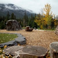 Banff Central Park Natural Playground