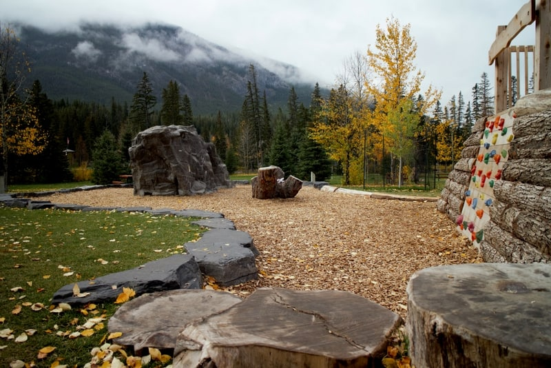 Banff Central Park Natural Playground
