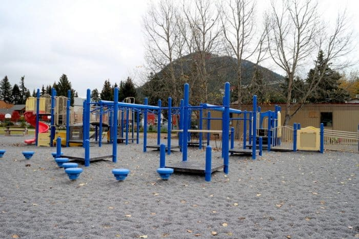 Banff Elementary School Playground ...