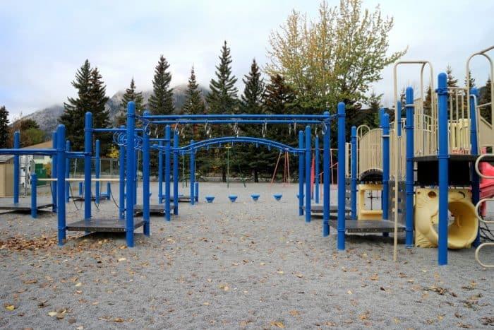 Banff Elementary School Playground