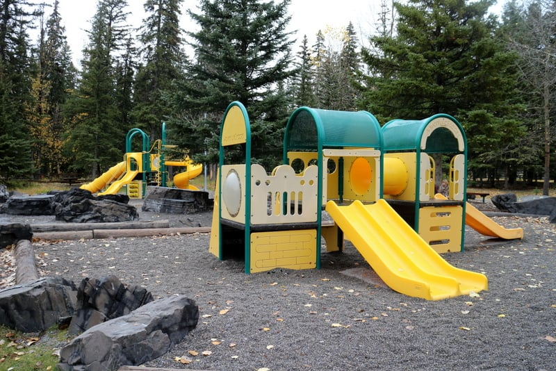 Banff Recreation Grounds Playground
