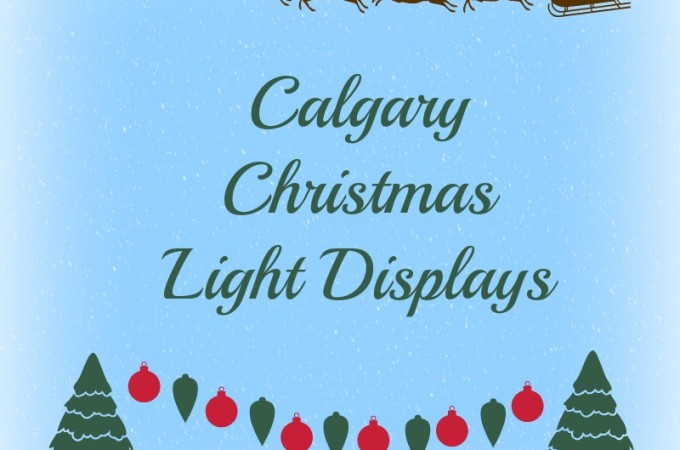 calgary christmas light displays