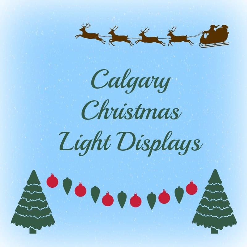 calgary christmas light displays