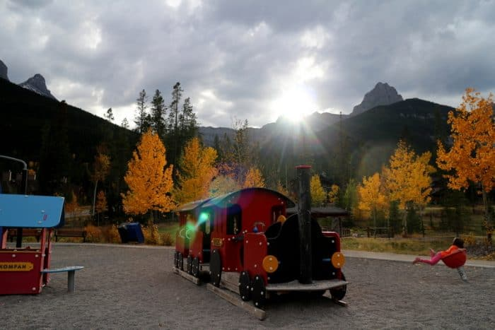 Canmore Train Playground