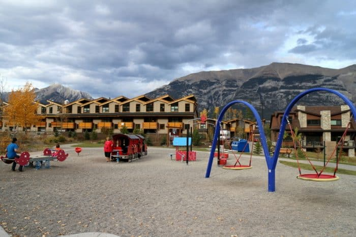 Canmore Train Playground