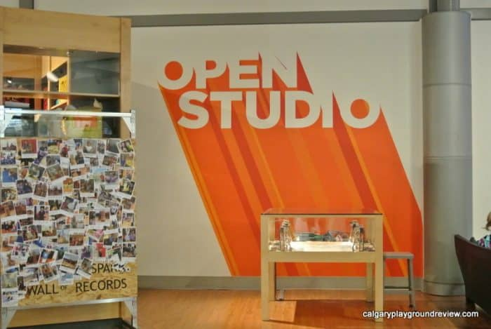 Open Studio at Telus Spark