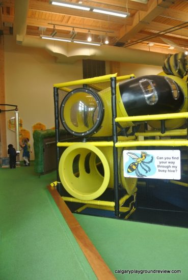Tegler Discovery Zone - Indoor Play Space at the John Janzen Nature Centre - Edmonton