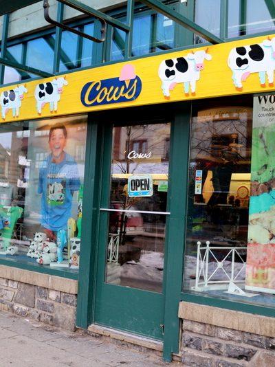 Cows Ice Cream – Banff, AB