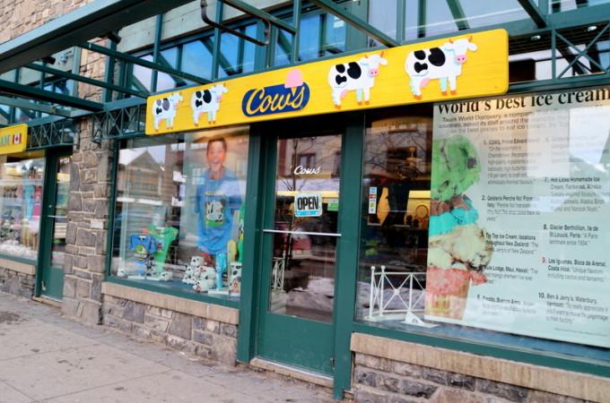 Cows Ice Cream - Banff, AB