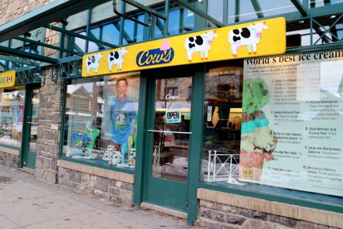 Cows Ice Cream – Banff, AB