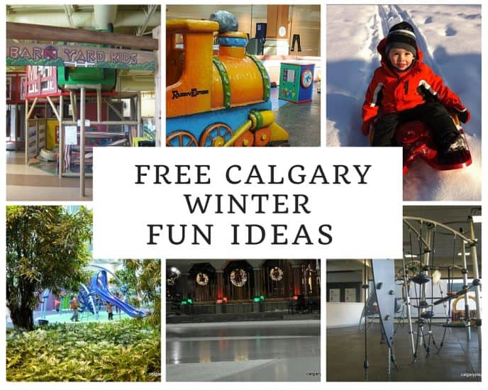Free Calgary Winter Fun - things to do with Kids in Calgary in the Winter