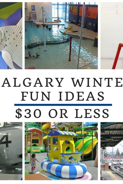 Budget-friendly Calgary Winter Fun – $30 or less