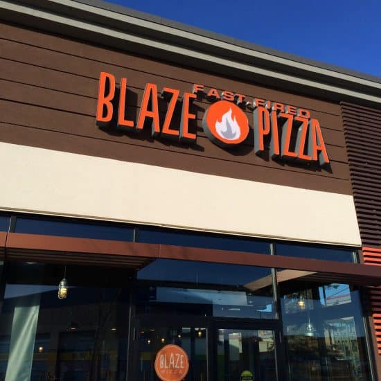 Blaze Pizza – Eating Out With Kids in Calgary