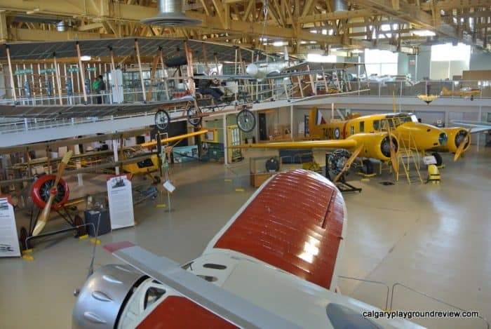 The Hangar Flight Museum - Calgary - Things to do with kids in Calgary in the Winter