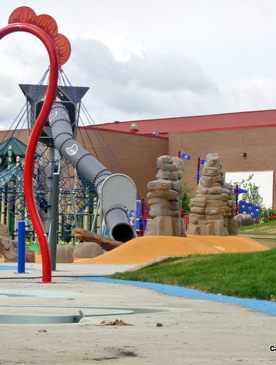 Broadmoor Lake Park Playground and Spray Park – Sherwood Park